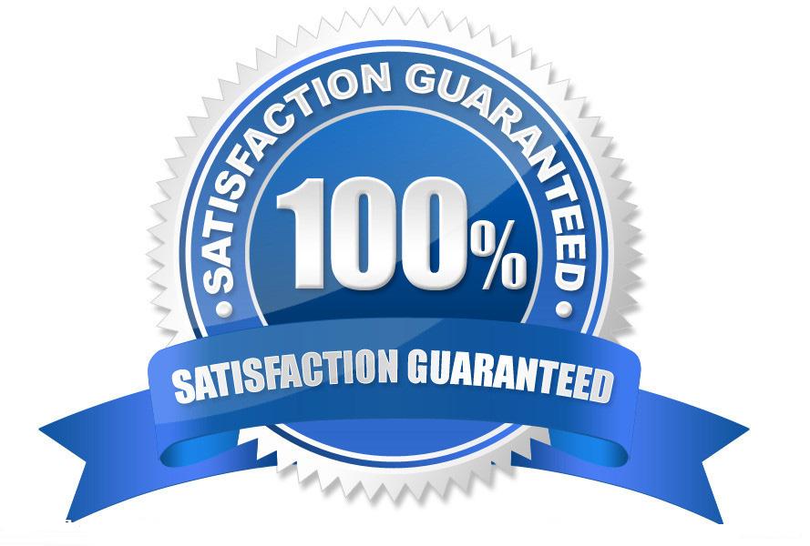 100% удовлетворение гаранция